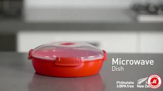 Контейнер для мікрохвильової печі Sistema Microwave Dish 1,3 л Red (1118)