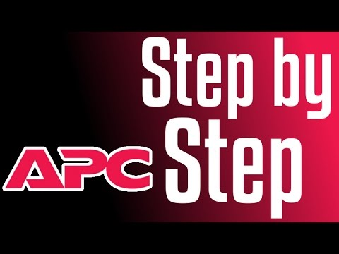 APC UPS - Setting e-mail notification (AP9631)