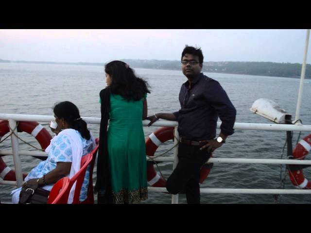 Cruise on Mandovi river - Goa