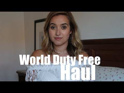 Duty Free Haul | A Little Obsessed