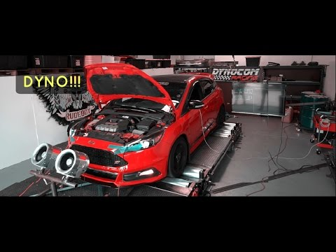 2 FULL BOLT ONS + TUNE FOCUS ST'S GETTING DYNO'D!! ???WHP!!!!!