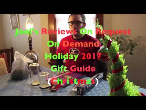 Joel's Reviews On Request On Demand: Holiday 2017 Christmas Gift Guide