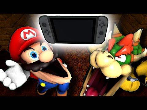 SM64: Mario gets a Nintendo Switch!