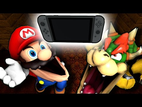 Thumbnail: SM64: Mario gets a Nintendo Switch!