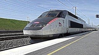 Gare de Champagne-Ardenne TGV - TGV Euroduplex, Réseau, Vigirail, ICE et TER