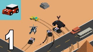 Smash Roads - Police Chase | Smash Cars Gameplay Walkthrough part 1 (iOS, Android)