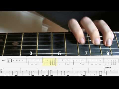 Can Gitar Dersleri (Pera - Sensiz Ben) İntro Solo Klasik Gitar