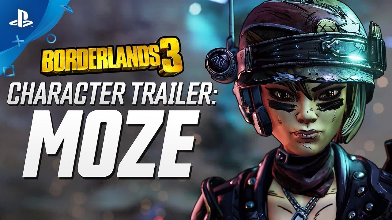 Borderlands 3 - Moze Character Trailer: The BFFs | PS4