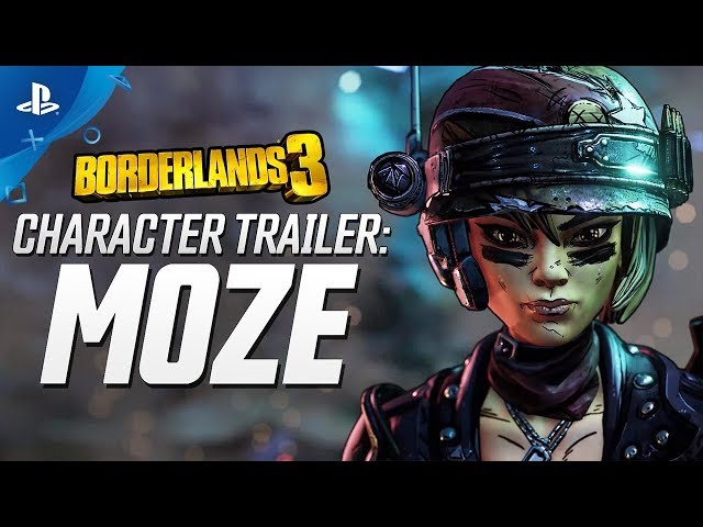 Borderlands 3 - Moze Character Trailer: The BFFs | PS4