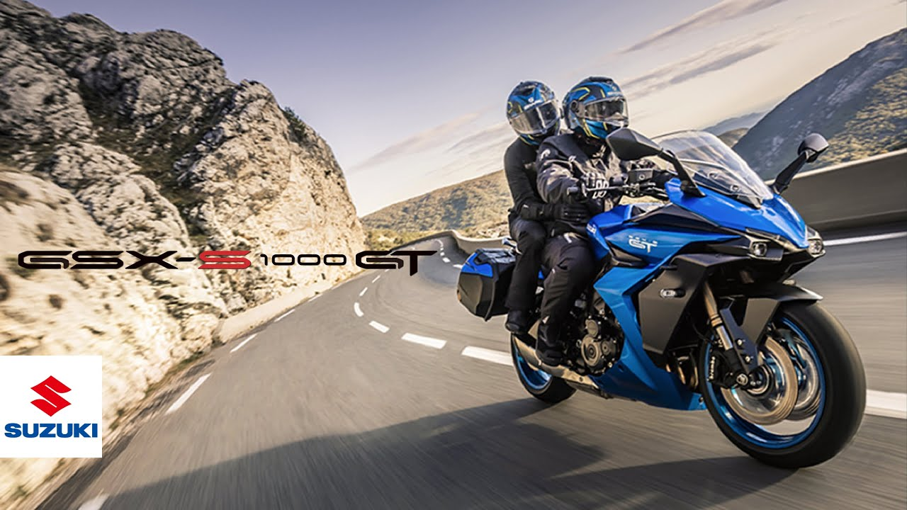 """Download GSX-S1000GT official promotional video   """"GT Riding Pleasure Personified""""   Suzuki"""