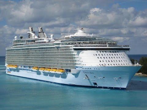 Oasis of the Seas   Maiden Voyage Nassau December 11 2009