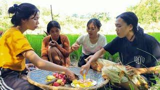 Gadis Dayak    Aktivitas Sehari-hari Gadis Suku Dayak Di Pondok Sawah #4