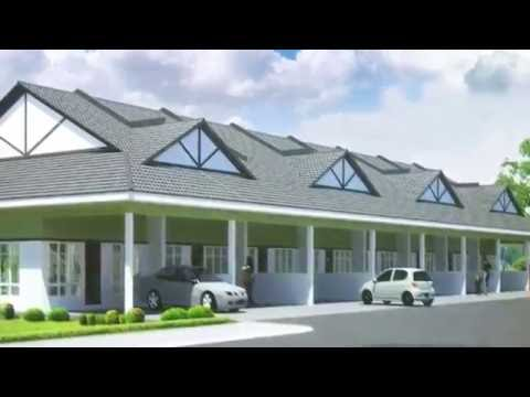 Brand New Single Storey Terrace House Intermediate For Sale  Desa Bahagia Miri  YouTube