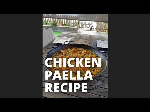 Making Chicken Paella // Paella Recipe