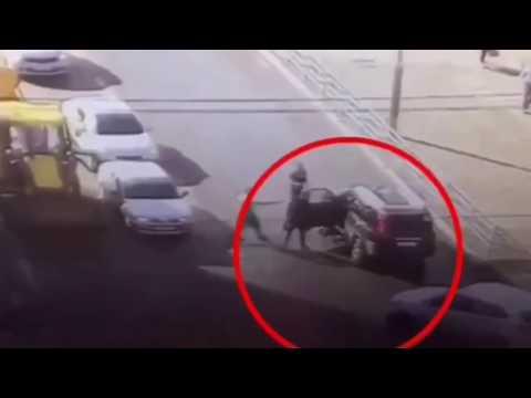 В Уфе на фирме мир сбили ребенка на велосипеде