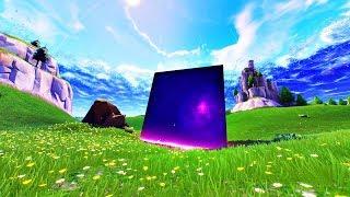 Playground Fill 1v1s! Cube destroys Loot Lake in Fortnite! (Fortnite Cube Event Ending Solved)