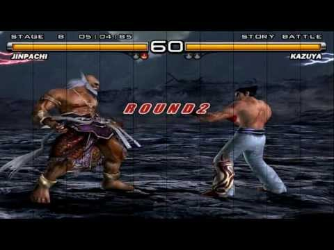 Tekken 5 - Jinpachi Human Story Mode - PCSX2 PS2 Emulator