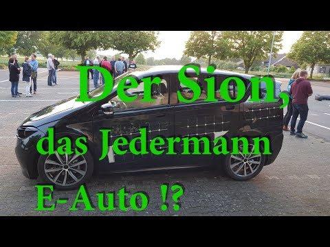 Sion - Sono Motors * Das neue E-Auto ab 16.000€