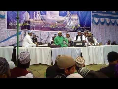 Kalame Nazmi- Alfaaz Nahi Milte Sarkaar Ko Kya Kahiye-Urse Syedi 2015 Naushad Hamid Chishti