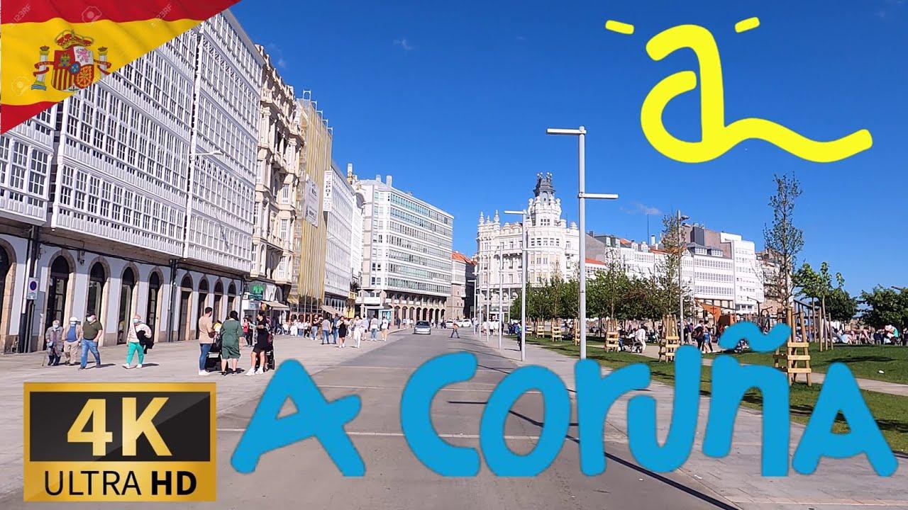 Download DRIVING A CORUÑA, GALICIA, SPAIN I A Coruña, España 4K 60fps