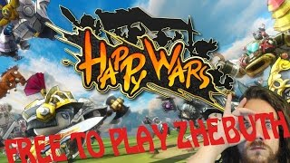 Happy wars [MOBA] - Gameplay FR
