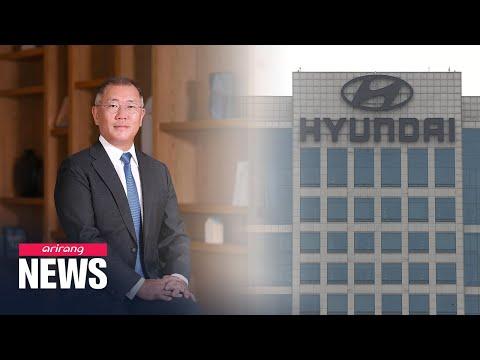 Heir Chung Eui-sun promoted to Hyundai Motor Group chairman