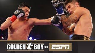 Golden Boy On ESPN: Hector Tanajara Jr. vs Roger Gutierrez (FULL FIGHT)