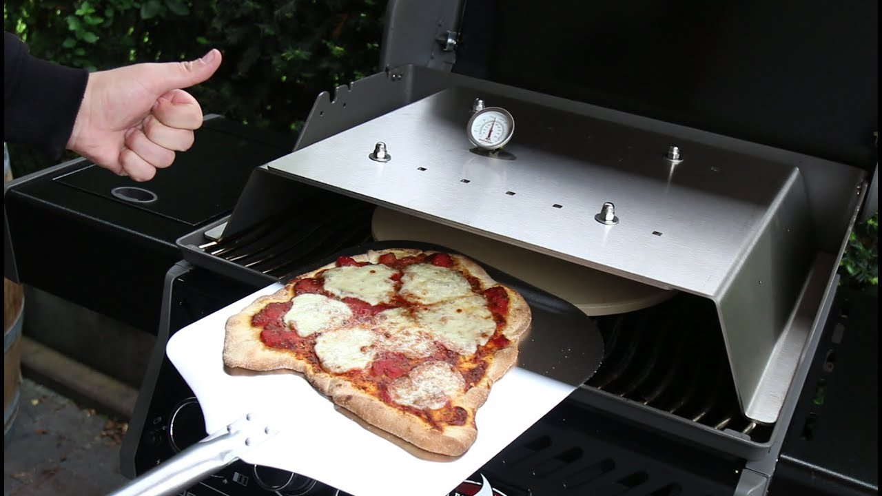 Pizza Gasgrill : Turbo pizza vom gasgrill unboxing moesta bbq pizza cover youtube