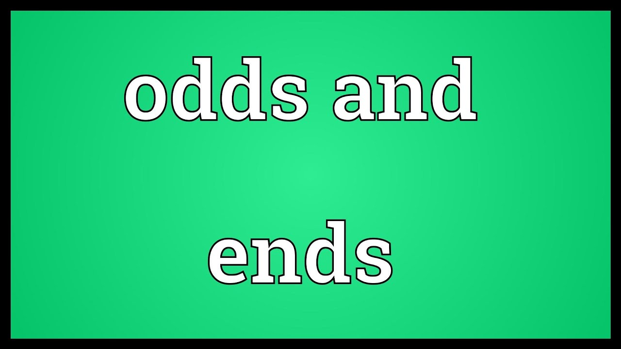Odds Online Dictionary