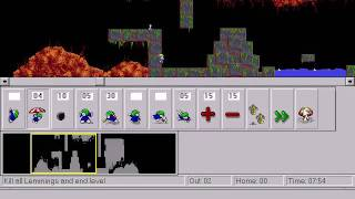 Lemmings demo for Win32s