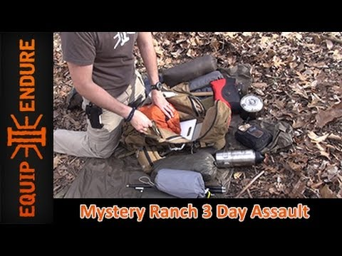Mystery Ranch 3 Day Assault Pack Part 2: Load Out by Equip 2 Endure