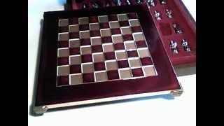 Шахматы S-03 28х28см, Manopoulos,