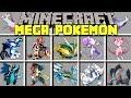 Minecraft MEGA POKEMON MOD l CAPTURE ALL 48 MEGA POKEMON! l Modded Mini-Game