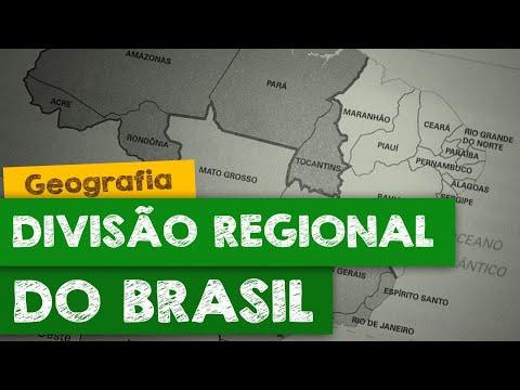 O Brasil e sua divisão regional - parte 1