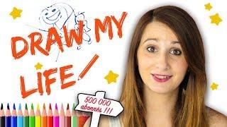 Mon DRAW MY LIFE! 😍 - vidéo Bonus Angie maman 2.0 - Ma vie en dessin !