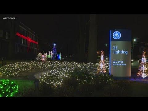 Nela Park Christmas display