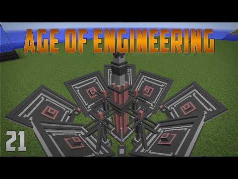 Age of Engineering EP21 Flawless Caclulator + Conductor Mast