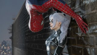 Chasing Black Cat With Sam Raimi Suit - SPIDER-MAN PS4