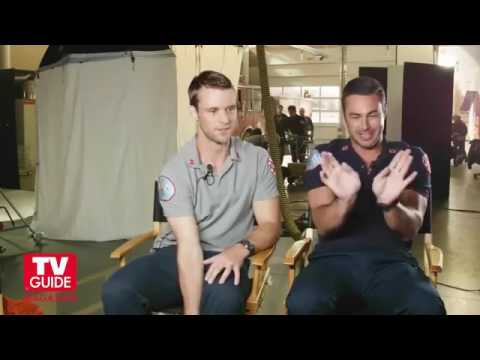 Chicago Fire! Cover shoot with Jesse Spencer and Taylor Kinney!