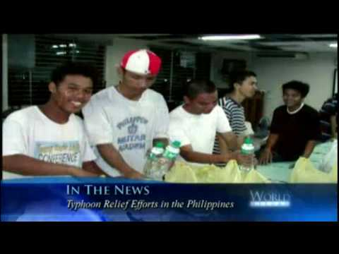 La Iglesia Mormona provee ayuda para las víctimas del tifón Filipino.