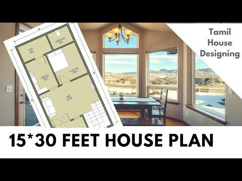 Lovely 15 30 Feet House Design - Zachary-kristen