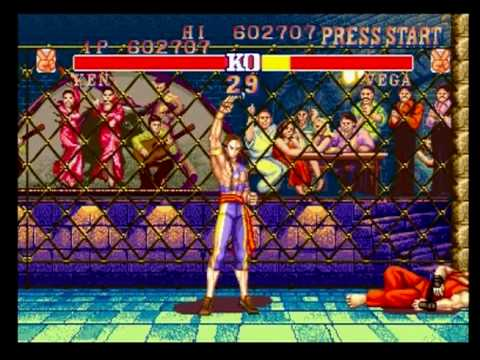 Vega S Stage Street Fighter Ii Champion Edition Playstation