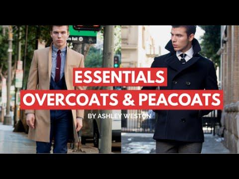 Overcoats & Peacoats - Men's Wardrobe Essentials - Camel, Navy, Charcoal, Wool, Cheap