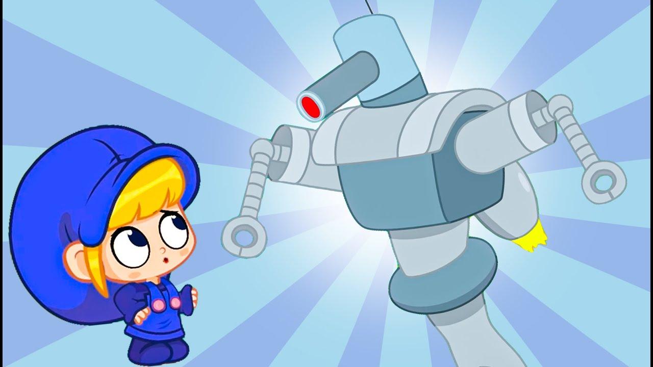 Morphle vs the Superhero Robot   Fun Animal Cartoons   Kids Videos   Learning for Kids