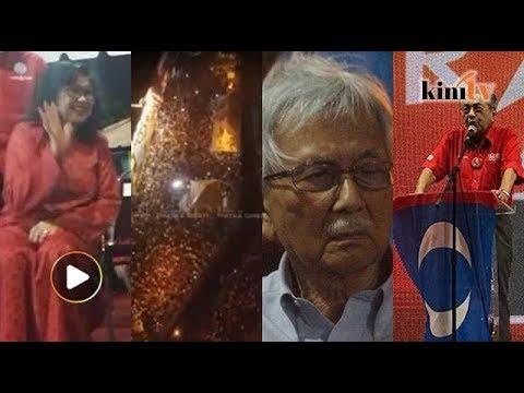 Dr M, Daim dan Rafidah buat Melaka 'banjir' manusia