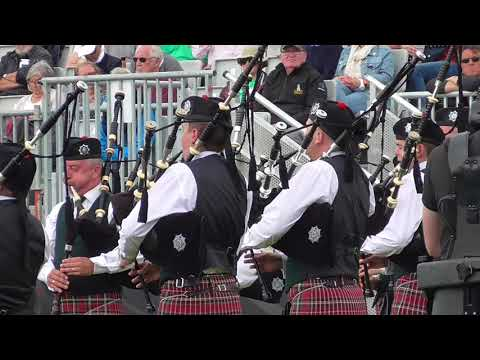 Pipes & Drums of the PSNI World Pipe Band Championships 2017 (Final Medley)