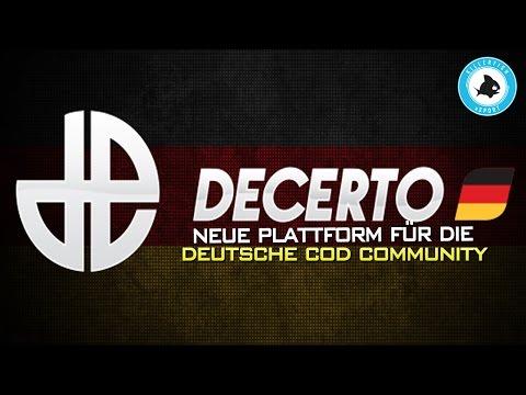 Decerto Deutschland - Neue Plattform für die deutsche CoD Szene!