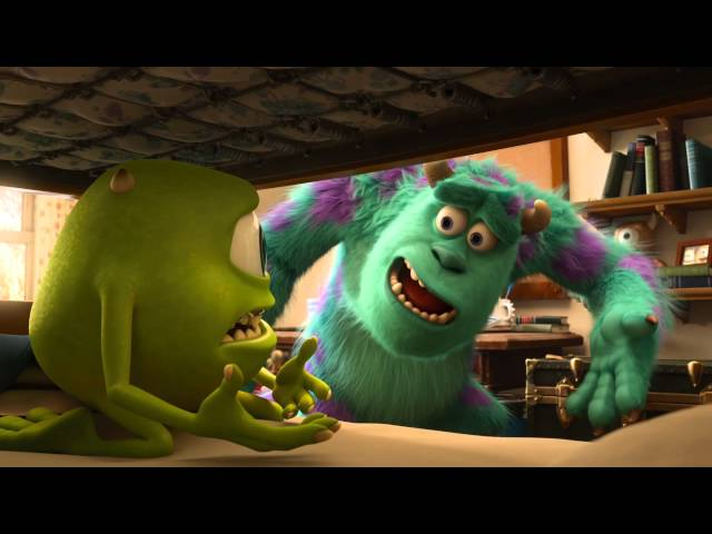 Monsters University: Una Mañana en Monsters University Videos De Viajes
