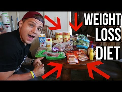 FULL FAT LOSS GROCERY HAUL (My Current Diet)