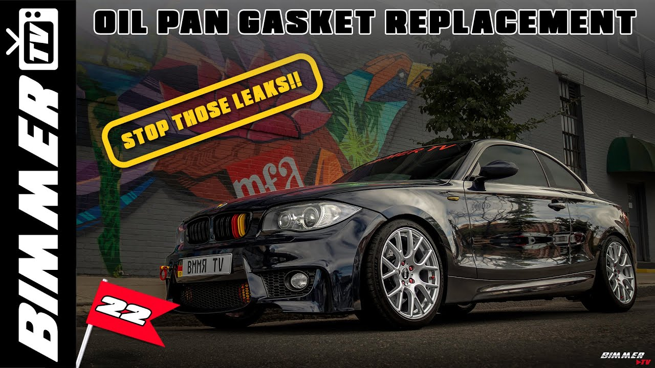 Oil Pan Gasket Replacement - BMW 1 Series Coupe Forum / 1